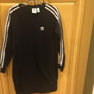 Girls adidas sports dress size M 11/12